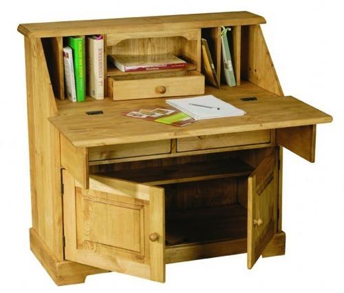 Стол письменный из сосны